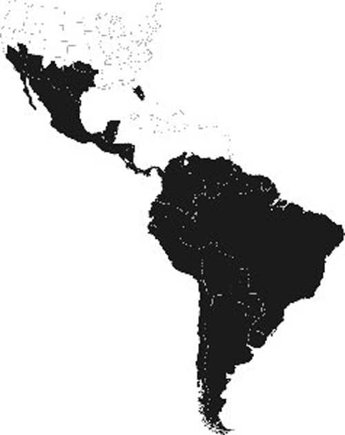 Distribution Of Apis Mellifera Scutelatta In The Americas As Of 2007 America
